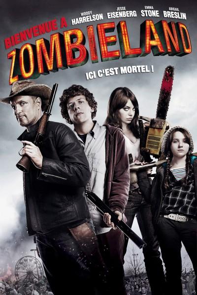 Caratula, cartel, poster o portada de Bienvenidos a Zombieland