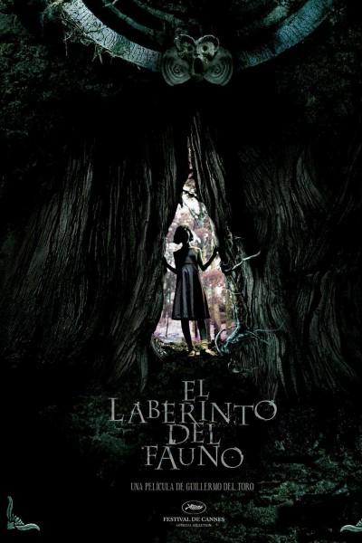 Caratula, cartel, poster o portada de El laberinto del fauno
