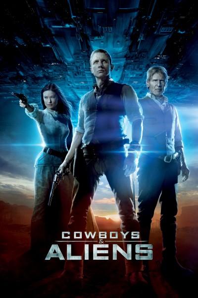 Caratula, cartel, poster o portada de Cowboys & Aliens