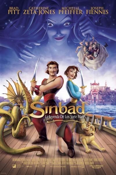 Caratula, cartel, poster o portada de Simbad: La leyenda de los siete mares