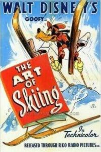 Caratula, cartel, poster o portada de Goofy: El arte de esquiar