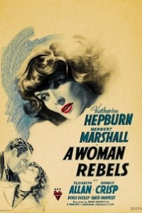 Caratula, cartel, poster o portada de Una mujer se rebela