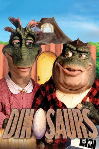 Caratula, cartel, poster o portada de Dinosaurios