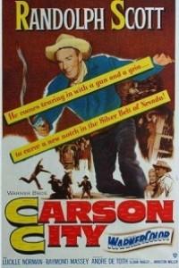 Caratula, cartel, poster o portada de Carson City