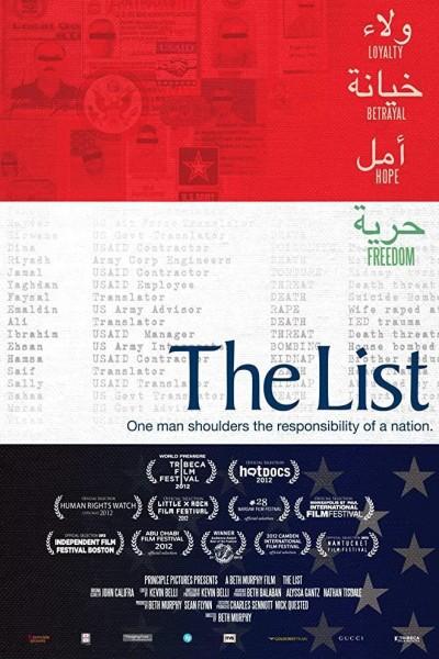 Caratula, cartel, poster o portada de The List