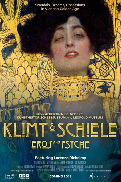 Caratula, cartel, poster o portada de Klimt y Schiele, Eros y Psyche