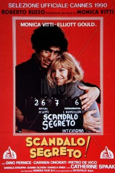 Caratula, cartel, poster o portada de Escándalo secreto