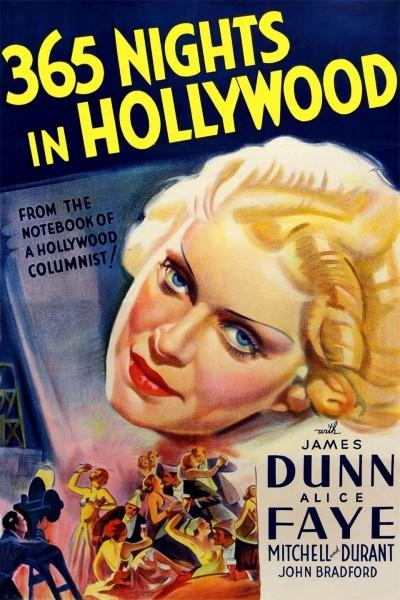 Caratula, cartel, poster o portada de Trescientas sesenta y cinco noches en Hollywood