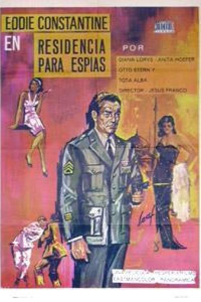 Caratula, cartel, poster o portada de Residencia para espías