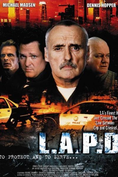 Caratula, cartel, poster o portada de L.A.P.D.: Policía de Los Ángeles