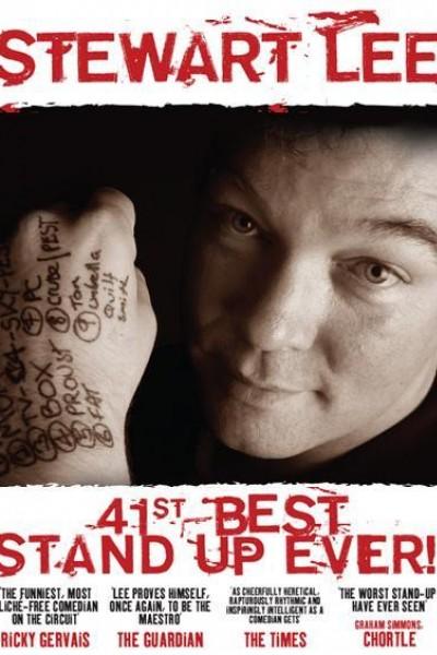 Caratula, cartel, poster o portada de Stewart Lee: 41st Best Stand-Up Ever!