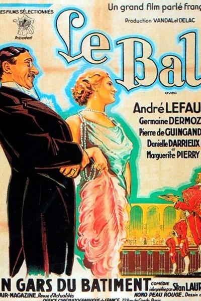 Caratula, cartel, poster o portada de El baile
