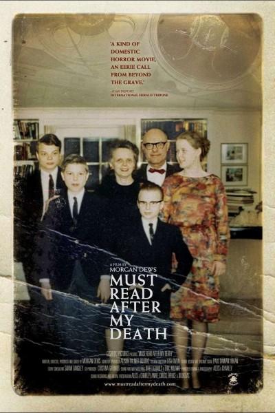 Caratula, cartel, poster o portada de Must Read After My Death