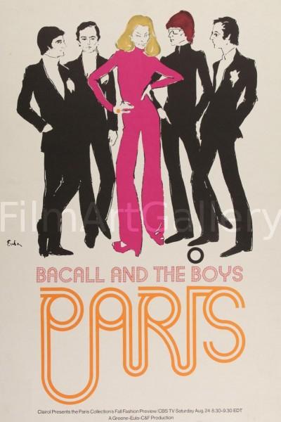 Caratula, cartel, poster o portada de The Paris Collections: Fall Fashion Preview (Bacall and the Boys)