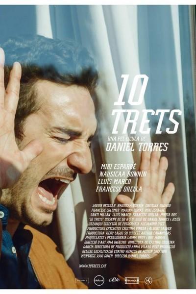 Caratula, cartel, poster o portada de 10 trets