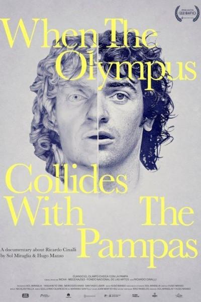 Caratula, cartel, poster o portada de Cuando el Olimpo choca con la pampa