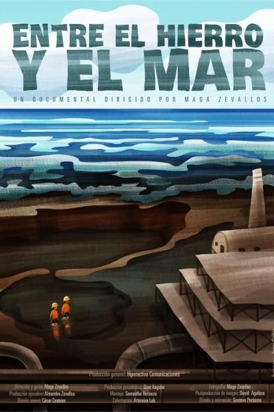 Caratula, cartel, poster o portada de Entre el hierro y el mar