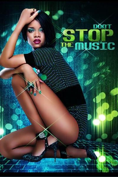 Caratula, cartel, poster o portada de Rihanna: Don\'t Stop the Music (Vídeo musical)