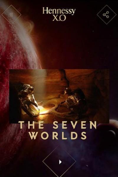 Caratula, cartel, poster o portada de Hennessy X.O: Los Siete Mundos