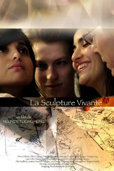 Caratula, cartel, poster o portada de La sculpture vivante
