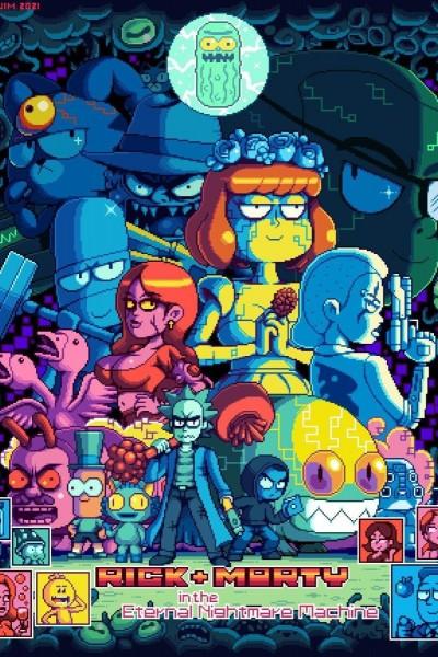 Caratula, cartel, poster o portada de Rick and Morty in the Eternal Nightmare Machine