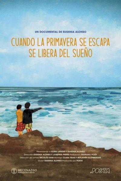 Caratula, cartel, poster o portada de Cuando la primavera se escapa, se libera del sueño