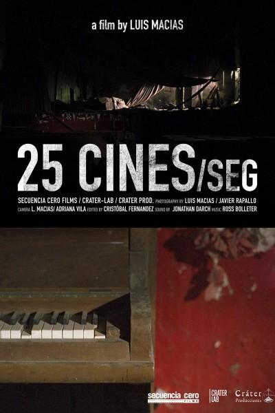 Caratula, cartel, poster o portada de 25 CINES/seg