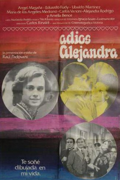 Caratula, cartel, poster o portada de Adiós Alejandra