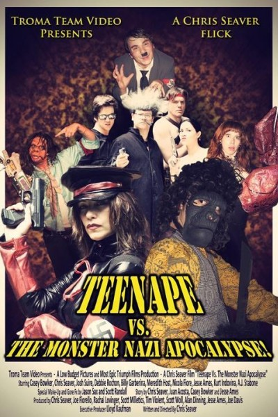 Caratula, cartel, poster o portada de Teenape Vs. The Monster Nazi Apocalypse