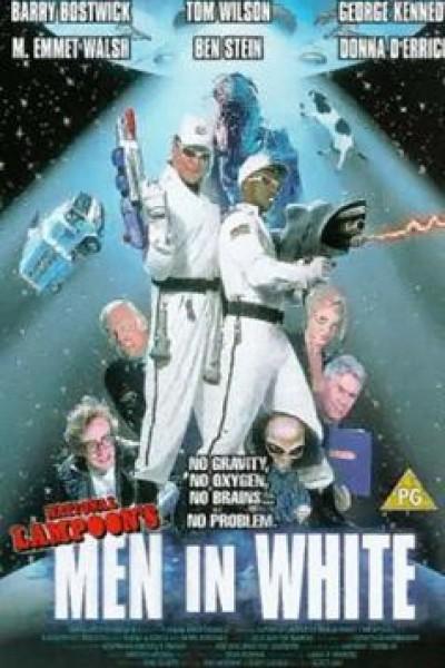 Caratula, cartel, poster o portada de Los hombres de blanco