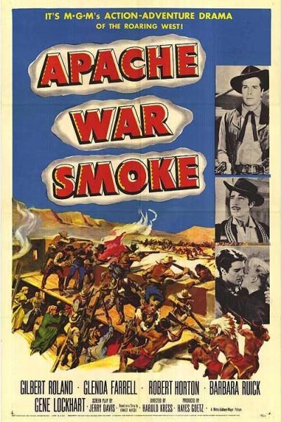 Caratula, cartel, poster o portada de Apache War Smoke