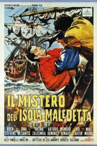 Caratula, cartel, poster o portada de El misterio de la isla maldita