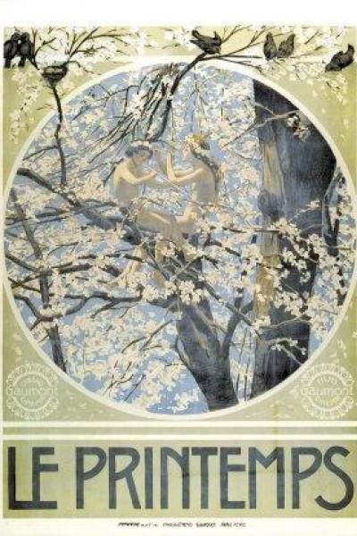 Caratula, cartel, poster o portada de Le printemps