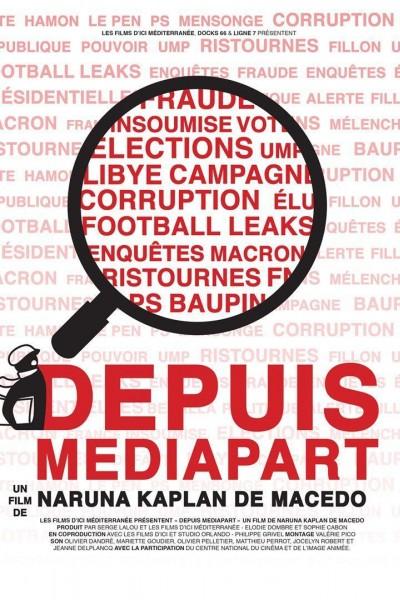 Caratula, cartel, poster o portada de Depuis Mediapart