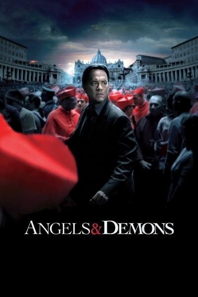Caratula, cartel, poster o portada de Ángeles y demonios