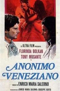 Caratula, cartel, poster o portada de Anónimo veneciano