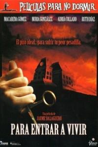 Caratula, cartel, poster o portada de Para entrar a vivir - Películas para no dormir