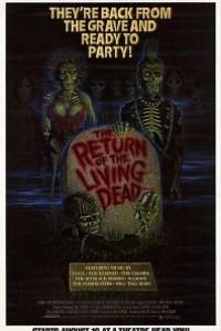 Caratula, cartel, poster o portada de El regreso de los muertos vivientes