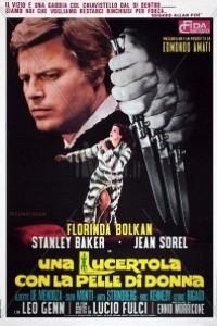 Caratula, cartel, poster o portada de Una lagartija con piel de mujer
