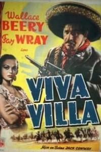 Caratula, cartel, poster o portada de ¡Viva Villa!