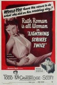 Caratula, cartel, poster o portada de La luz brilló dos veces