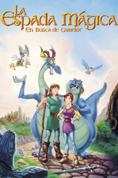 Caratula, cartel, poster o portada de La espada mágica: En busca de Camelot