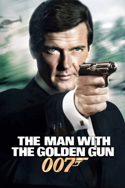 Caratula, cartel, poster o portada de El hombre de la pistola de oro
