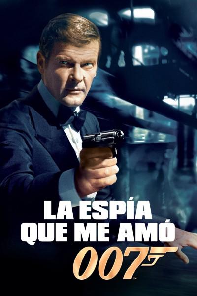 Caratula, cartel, poster o portada de La espía que me amó