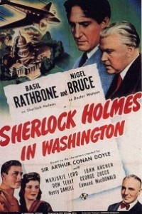 Caratula, cartel, poster o portada de Sherlock Holmes en Washington