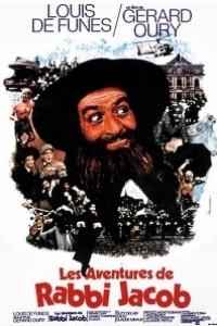 Caratula, cartel, poster o portada de Las locas aventuras de Rabbi Jacob