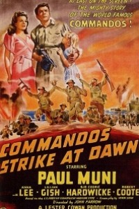 Caratula, cartel, poster o portada de Ataque al amanecer