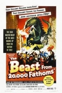 Caratula, cartel, poster o portada de El monstruo de los tiempos remotos