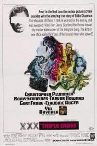Caratula, cartel, poster o portada de Triple Cross - La verdadera historia de Eddie Chapman