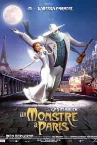 Caratula, cartel, poster o portada de Un monstruo en París